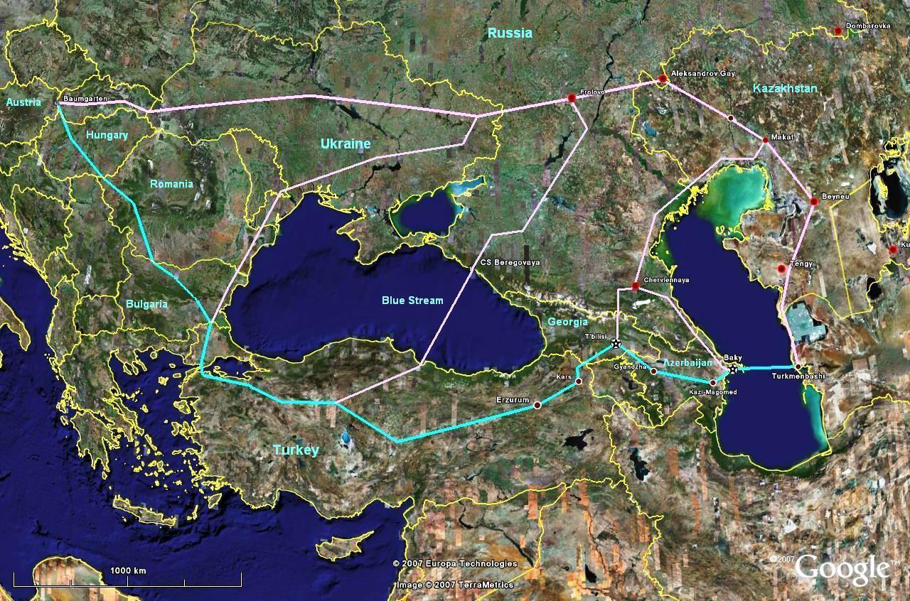 Caspian Gas Pipeline and Nabucco